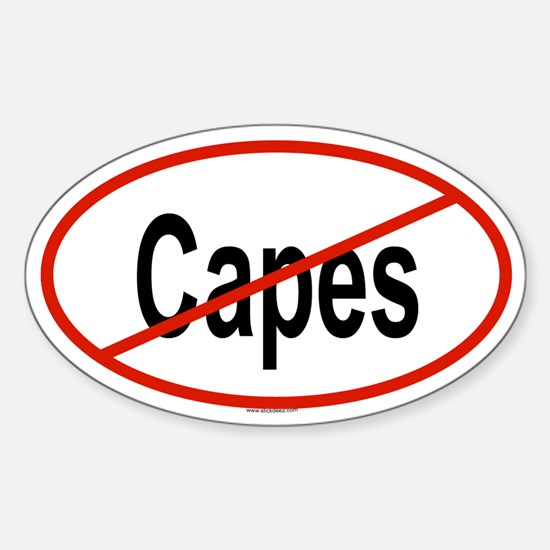 CAPES Oval Decal