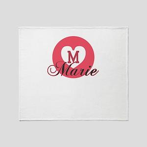 marie Throw Blanket