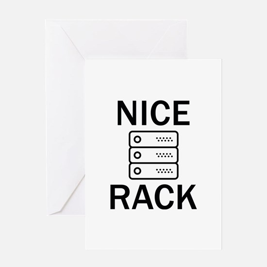 Nice Rack Greeting Card