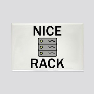 Nice Rack Rectangle Magnet