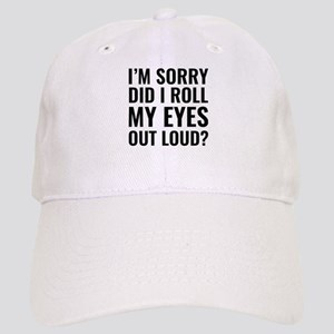 Roll My Eyes Cap