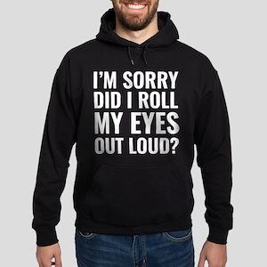 Roll My Eyes Hoodie (dark)
