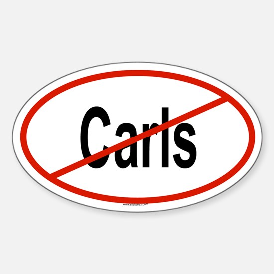 CARLS Oval Decal