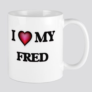I love Fred Mugs