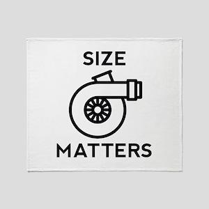 Size Matters Stadium Blanket