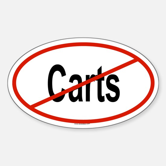 CARTS Oval Decal