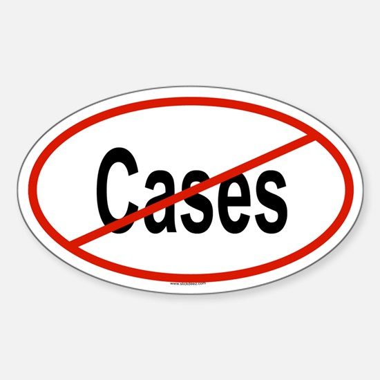 CASES Oval Decal
