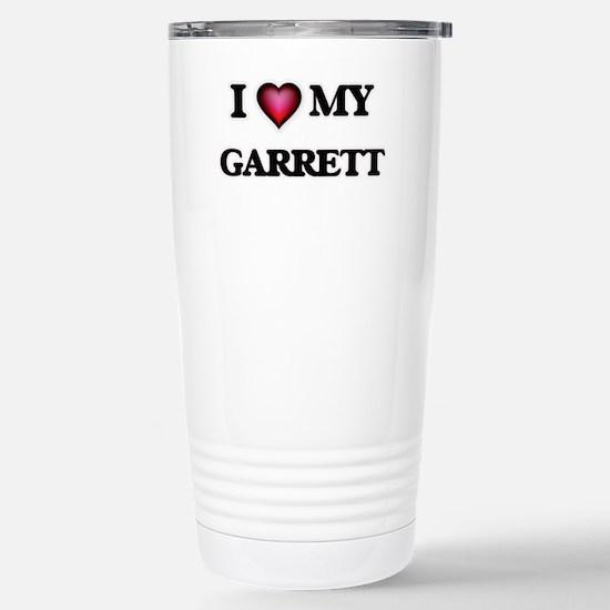 I love Garrett Stainless Steel Travel Mug