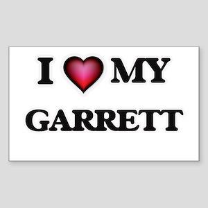 I love Garrett Sticker