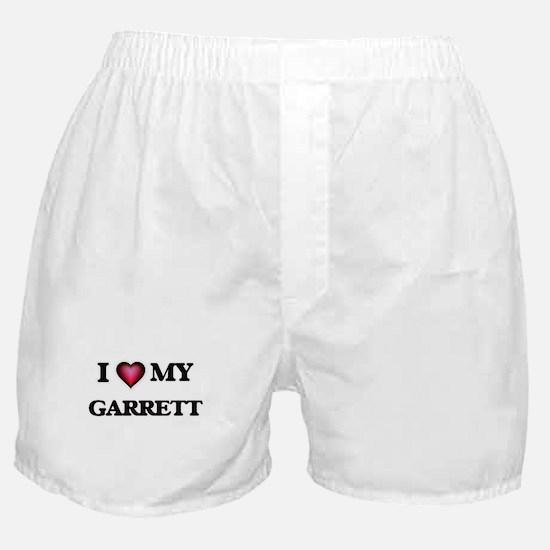 I love Garrett Boxer Shorts