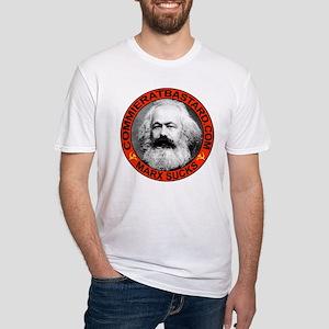 Marx Sucks Fitted T-Shirt