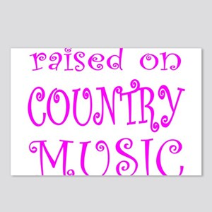 RAISED ON COUNTRY MUSIC Postcards (Package of 8)