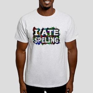 I Ate Speling (Ink Spots) T-Shirt