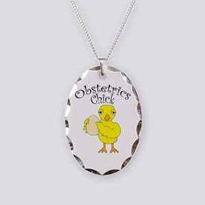 Obstetrics Chick Text Necklace