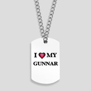 I love Gunnar Dog Tags