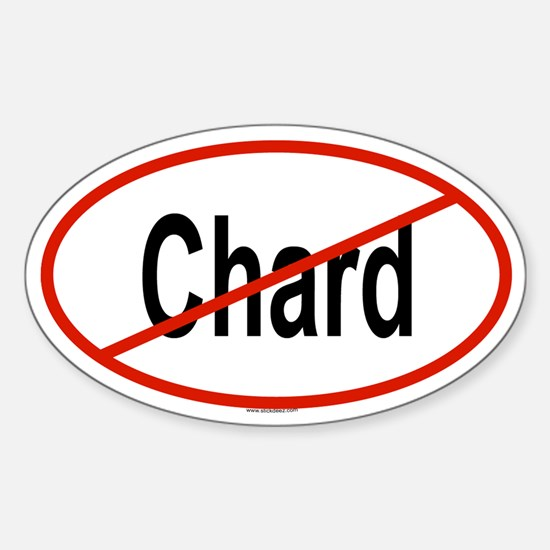 CHARD Oval Decal