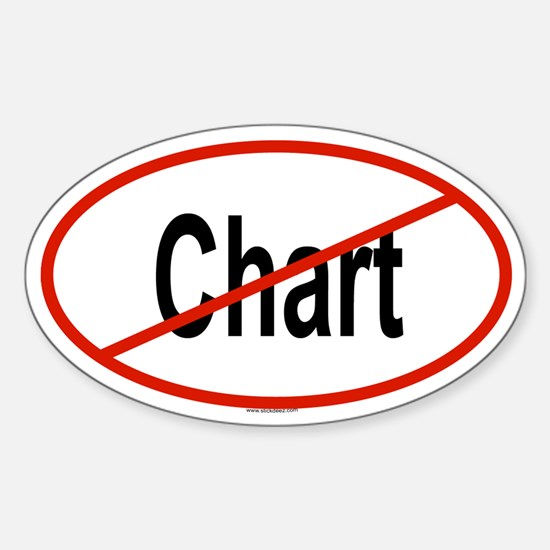 CHART Oval Decal