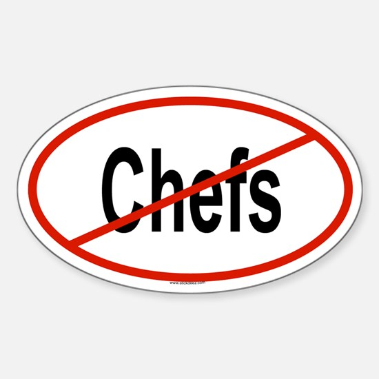 CHEFS Oval Decal