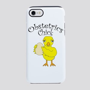 Obstetrics Chick Text iPhone 8/7 Tough Case