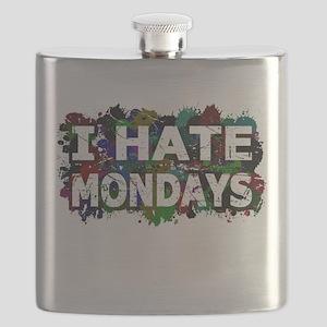 I Hate Mondays (Ink Spots) Flask