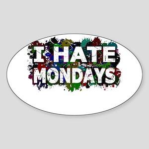 I Hate Mondays (Ink Spots) Sticker