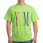 1. yum [color] Green T-Shirt