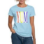 1. yum [color] Women's Pink T-Shirt