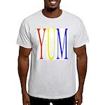 1. yum [color] Ash Grey T-Shirt