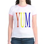 1. yum [color] Jr. Ringer T-Shirt