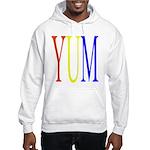 1. yum [color] Hooded Sweatshirt