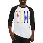 1. yum [color] Baseball Jersey