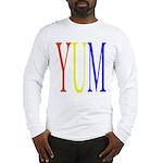 1. yum [color] Long Sleeve T-Shirt