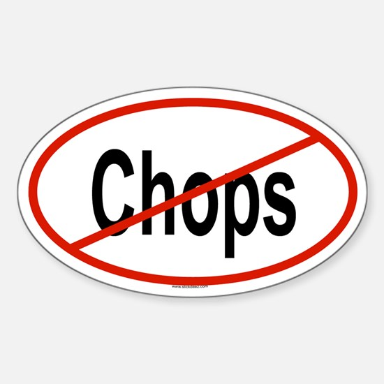 CHOPS Oval Decal