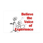 Voice of Experience Wall Decal