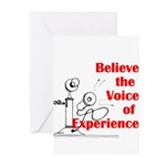 Voice of Experience Greeting Cards