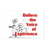 Voice of Experience Postcards (Package of 8)