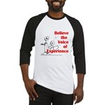 Voice of Experience Baseball Jersey