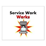 Service Work Works Posters