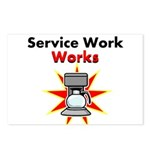 Service Work Works Postcards (Package of 8)