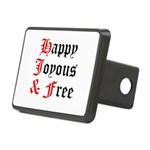 Happy Joyous Free Hitch Cover