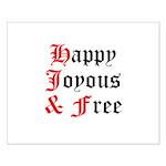 Happy Joyous Free Posters