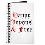 Happy Joyous Free Journal