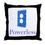 Powerless Throw Pillow