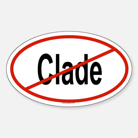 CLADE Oval Decal