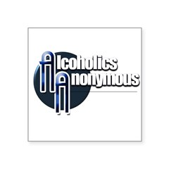Alcoholics Anonymous Sticker