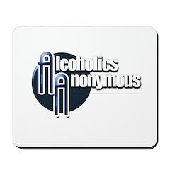 Alcoholics Anonymous Mousepad
