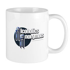 Alcoholics Anonymous Mugs