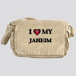 I love Jaheim Messenger Bag
