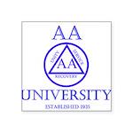 AA University Sticker
