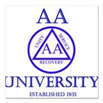 AA University Square Car Magnet 3